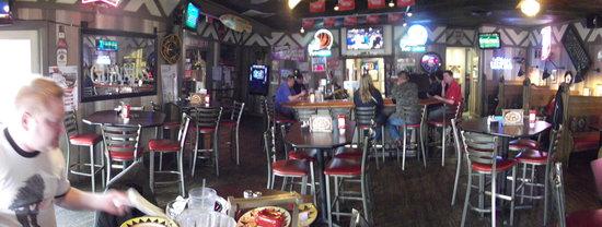 Buffalo's Southwest Cafe : The Bar Area  Sports Bar!
