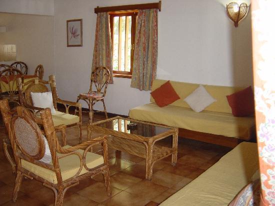 Villas Mont Choisy: intérieur séjour