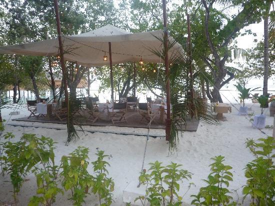 Constance Moofushi: Part of Alizee restaurant