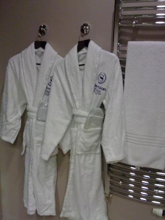 His Amp Hers Robes And Slippers Picture Of Sheraton Prague