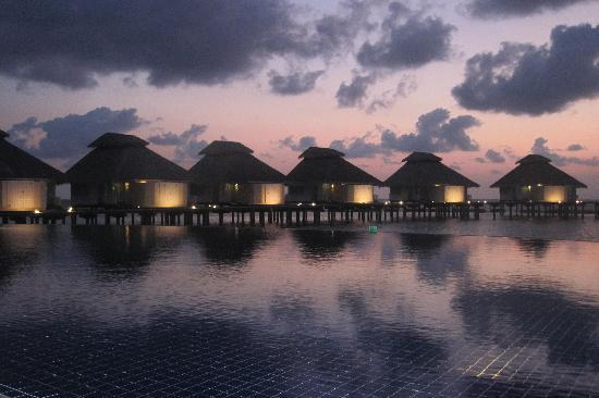 Ellaidhoo Maldives by Cinnamon: Dusk at the Water villas