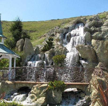 Waterfall near Swimming Pool