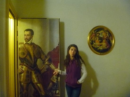 Hotel Vasari Palace: Puerta de la habitación