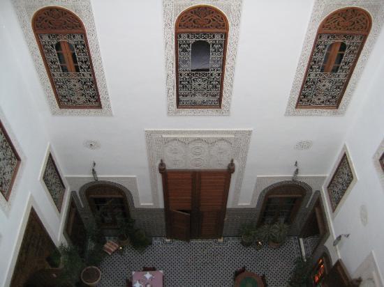 Dar Roumana: View of the atrium