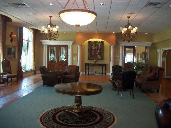 Safety Harbor Resort and Spa: Sitting room off of lobby
