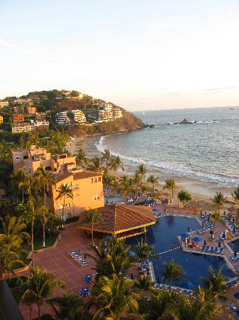 Barcelo Ixtapa Beach: view from hotel room