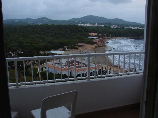 Fiesta Hotel Cala Nova : View of beach from room at Dusk