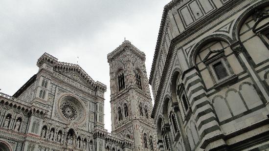 Florencia, Italia: campanile di Giotto