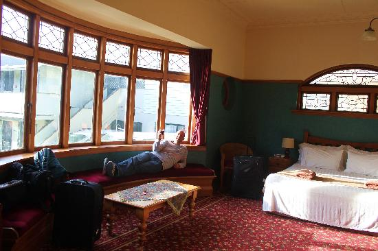 The Halswell Lodge: our room