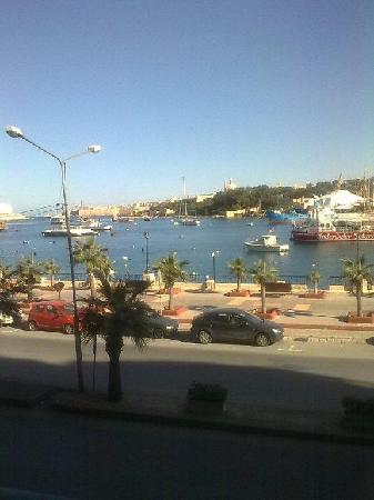 Il Gzira, Malta: view from balcony