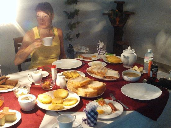 Ridee Villa: Zuviel Essen!!!