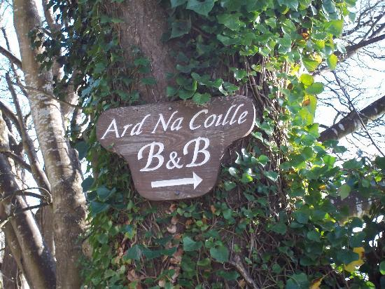 Ard Na Coille Bed and Breakfast: Find Us Here