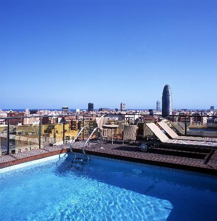 Catalonia Atenas Hotel: Piscina Catalonia Atenas