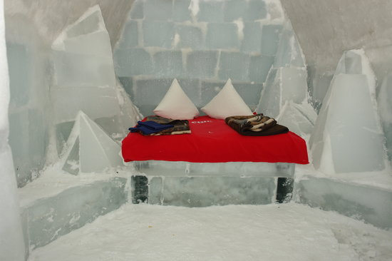 Fagaras, Rumania: Ice Hotel Room 2