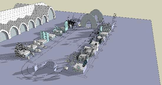 Fagaras, Rumania: Ice Hotel Floor plan 2010/11