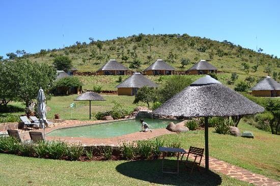 Ohrigstad, South Africa: Vue des chambres