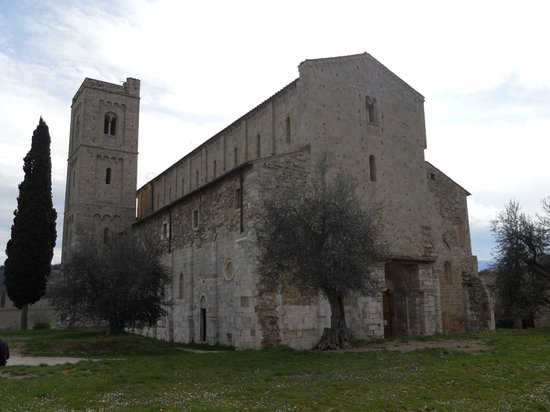 Castelnuovo dell'Abate, Itália: Sant'Antimo 01