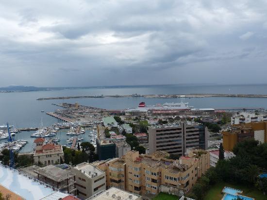 Hotel Amic Horizonte : Vistas desde la terraza de mi habitación