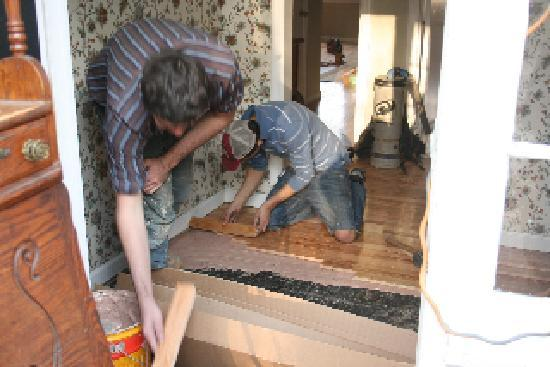 Crabtree's Kittle House: spring renovations 2011