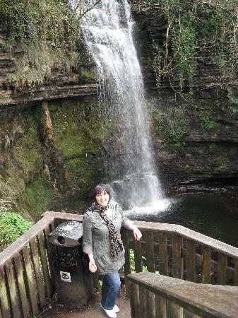 Glencar Lake : Glencar waterfall