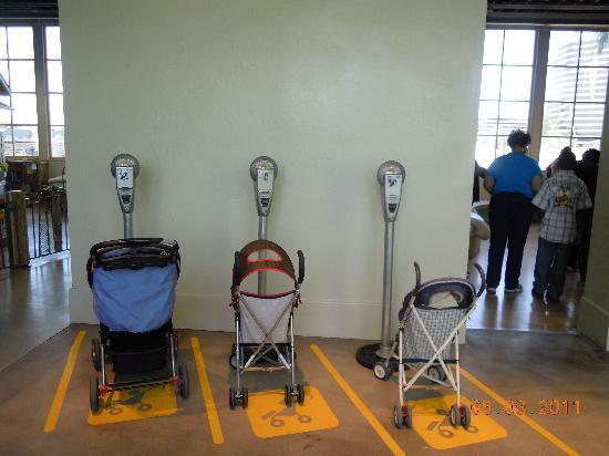 Children's Museum of Phoenix : Stroller Parking
