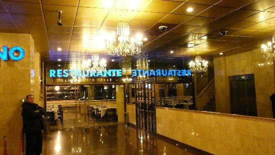 Status Hotel Casino : ENTRADA A ZONA RESTAURANT