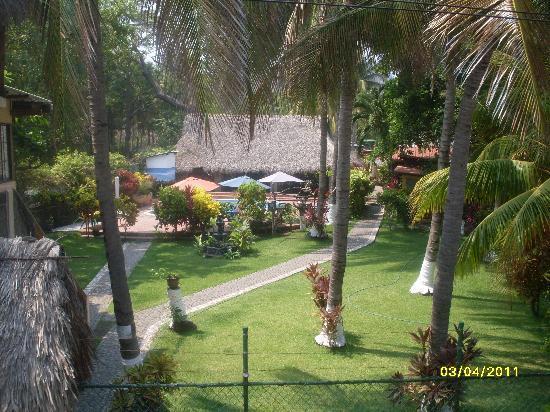 El Zonte, El Salvador: Vista desde el Mirador