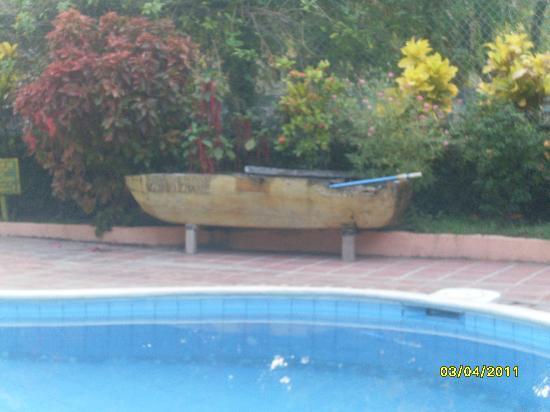 El Zonte, El Salvador: La piscina central