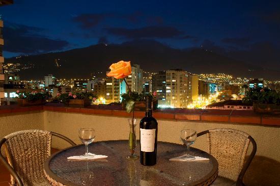 Hotel Sierra Madre: Vista a la ciudad