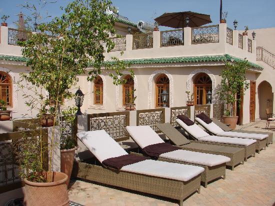 Riad Andalib : les terrasses, avec bains de soleil notamment