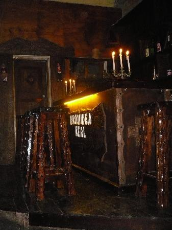 Orquidea Real Hostal : bar