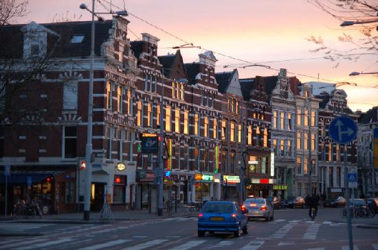 Rotterdam, Holland: shopping around the streets