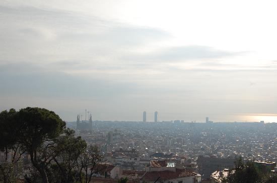 Barcelona, Hiszpania: Barcellona da Park Guell