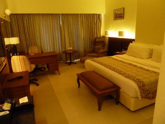 Hotel Sangam: Vue de la chambre