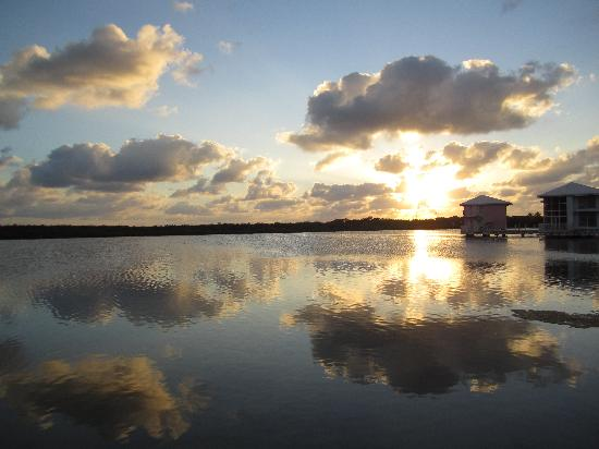 Melia Cayo Coco: sunset on the lagoon