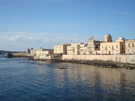 Hotel Posta: la vista di Ortigia...