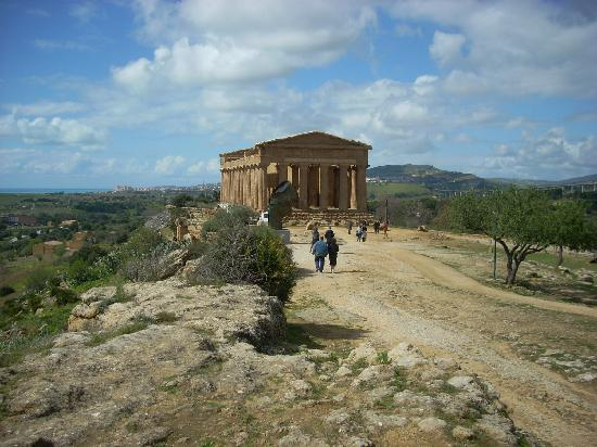 Tempio della Concordia : The setting makes the Temple of Concord one of the most photogenic buildings in Sicily