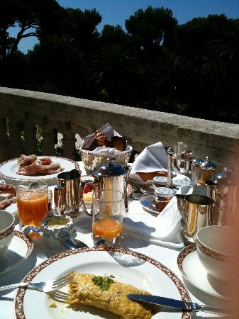 Hotel du Cap-Eden-Roc: Ontbijt