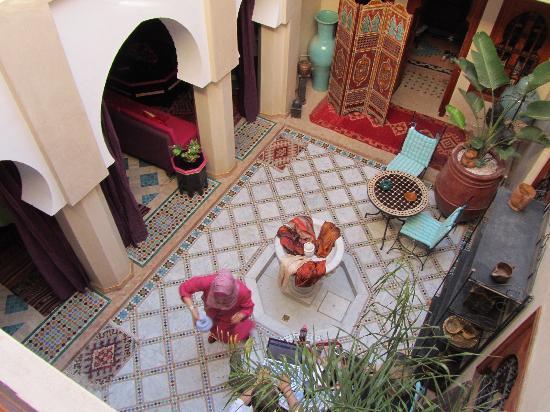 Riad Dubai: Innenhof