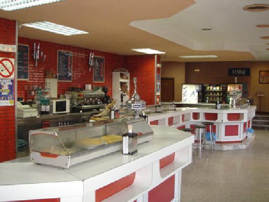 Hostal Goyma: La cafetería