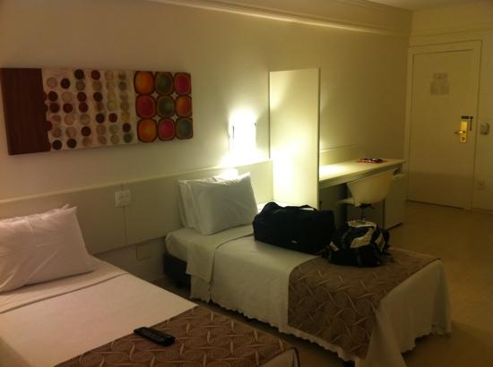 Boulevard Plaza Hotel Belo Horizonte: room 1101 - 11th floor