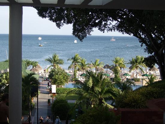 Royal Decameron Beach Resort, Golf & Casino: Notre vue en arrivant.