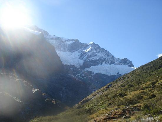 Criffel Peak View B&B and Apartment: Rob Roy Glacier