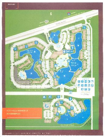 Property Map Picture of Sheraton Vistana Villages International