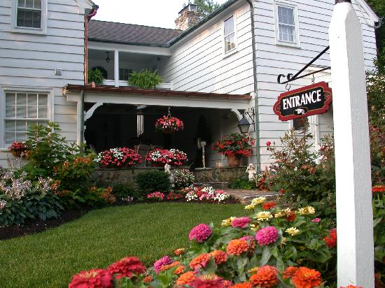 Richmond House Bed & Breakfast: Entrance garden