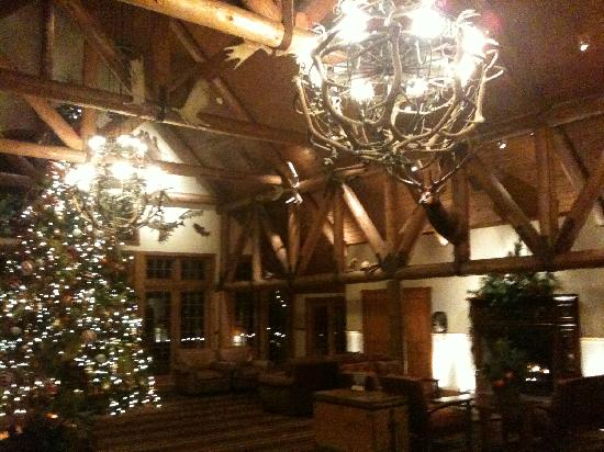 Big Cedar Lodge: Entrance area of Falls Lodge