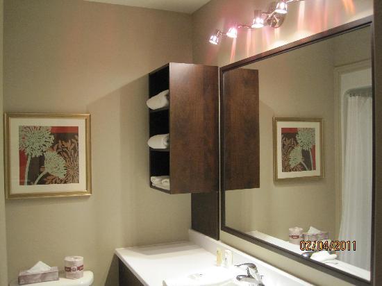 Hotel Le Versailles: Bathroom