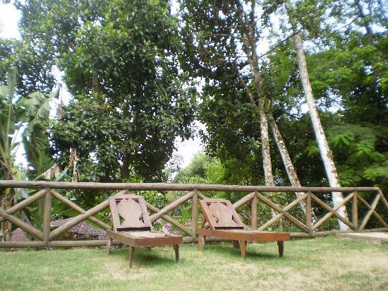 Casa Bonita: la terraza y su vista