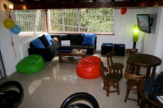 Arcadia Hostel: Sala de Arcadia