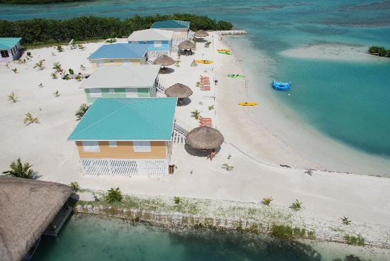 St. George's Caye, Belize: Royal palm Caye Resort